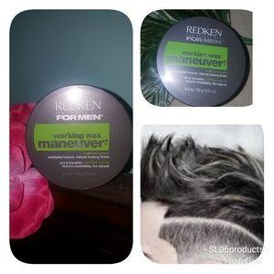 Other - Redken for men wax